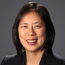 Headshot of Caroline Tang, AFSSA Board member and past president.