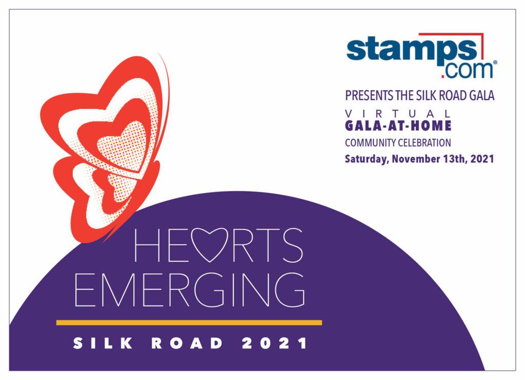 Hearts Emerging Silk Road 2021. Click for invitation.